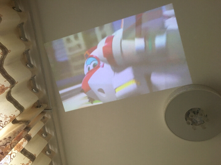 微麦m100微型手机投影仪家用迷你便携式掌上投影机儿童家庭卧室无屏电视全高清 晒单图
