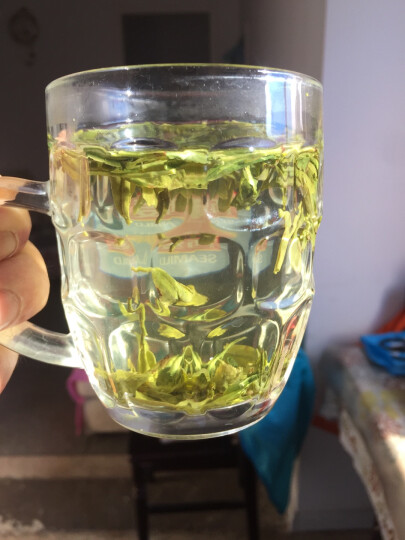 2019新茶 盛茗世家茶叶 明前西湖龙井茶 茶叶礼盒装250g 绿茶春茶 龙井茶 (青花礼盒) 晒单图