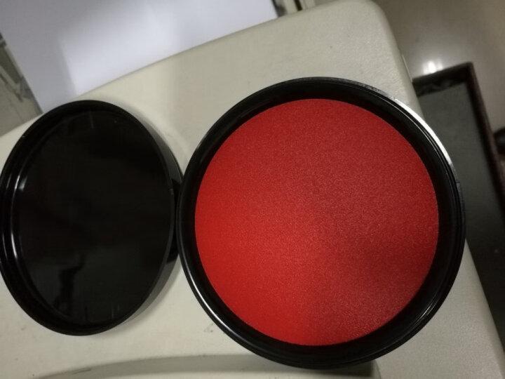 利百代(LIBERTY)速干快干印台明色朱肉印泥红色纱布30g印台红添加液印油印章垫快干印台油添加液 国产小号 红色圆胶 印章垫1块 晒单图