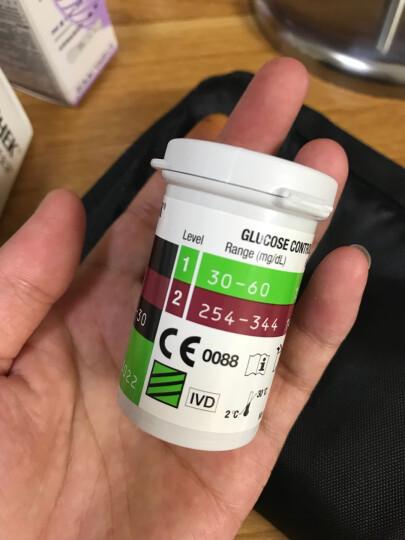 罗氏(ROCHE)血糖仪家用卓越金采型免调码测血糖测糖仪糖尿病测试检测仪(内附100片试纸+100支采血针) 晒单图