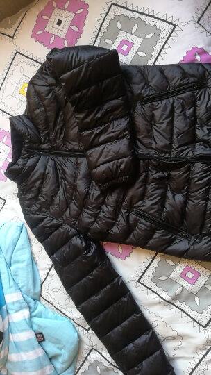雪中飞女士情侣修身短款鸭绒轻薄羽绒服外套X80130862 梦幻紫红1006 155/80A 晒单图