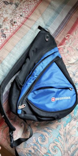 SWISSGEAR胸包男女 防水时尚休闲胸包三角斜挎包 户外运动单肩包旅行小包 SA-9966蓝色 晒单图