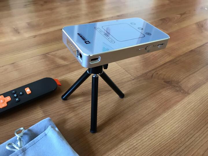 【销量超万笔】澳典(AODIN) 微型手机投影仪家用办公 迷你智能便携式投影机 1080p全高清 M8 2G+32G 高清输入 镜头防尘盖 手机同屏 官方标配 晒单图