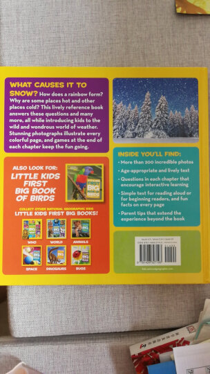National Geographic Little Kids First Big Book of the Ocean 国家地理少儿版:儿童首本海洋大图书 英文原版 晒单图