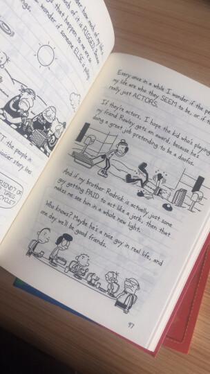 小屁孩日记全套24册 中英文对照版精装 小屁孩漫画书籍 儿童双语故事漫画绘本 少儿英语教材 晒单图