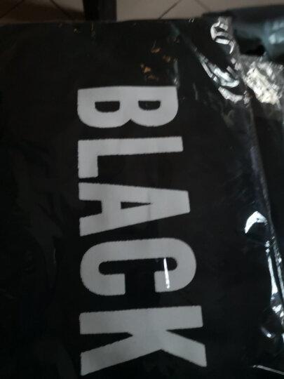 包里名家(sac maitres)女包单肩包女简约百搭文艺帆布包包大容量手提袋D703黑色 晒单图