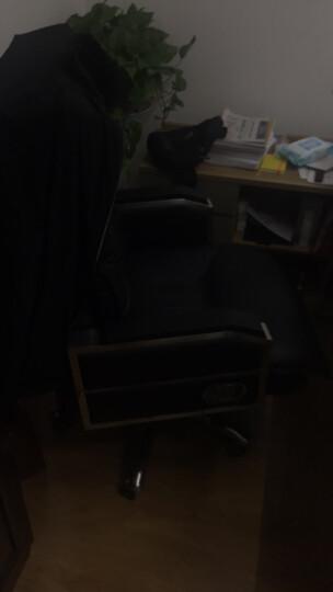 品仪 老板椅真皮 可躺办公椅子电脑椅家用书房转椅按摩大班椅靠背座椅总裁椅 卡其色(头层牛皮+揉捏按摩)鹅毛靠背+乳胶坐垫 晒单图