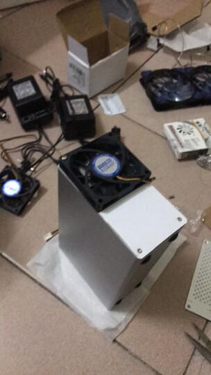 奥睿科(ORICO) 3.5英寸硬盘保护箱 10粒全铝手提式保护盒 防潮/防尘/防震 银色 BSC35 晒单图