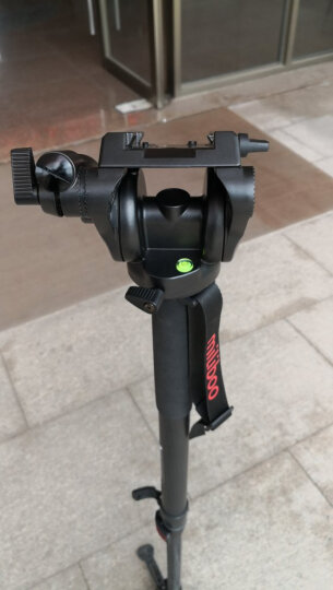 miliboo米泊MTT602A摄像机三脚架 广播级单反相机三角架 含液压云台套装 晒单图