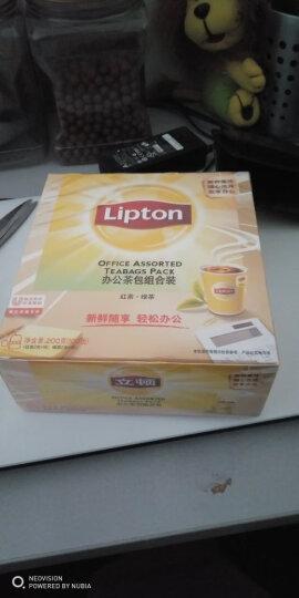 立顿Lipton  红茶  茶叶办公室茶包组合 袋泡茶包 红茶2g*50包+绿茶2g*50包 晒单图
