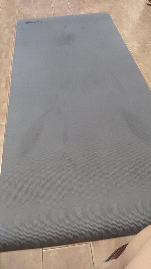 Keep 加宽健身垫80cm 瑜伽垫tpe男女防滑稳固 双面单色7mm厚 送背带 晒单图