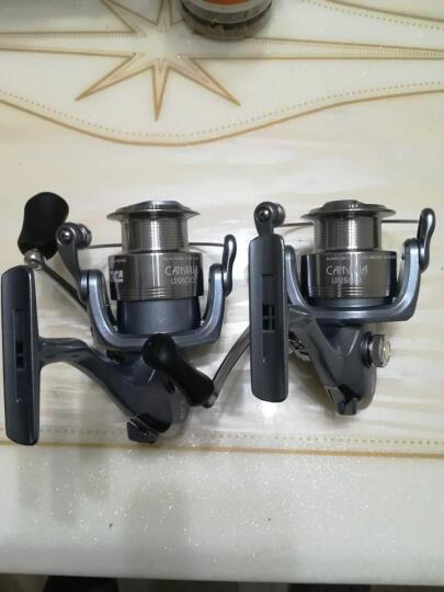 迪佳 摇轮 LD2000/2500/3000/3500/4000/5000纺车轮10轴渔轮 LD3500 晒单图