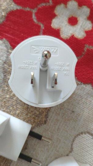 玛雅 MAYA 出国旅行转换插头插座电源转换器 多国通用欧洲泰国韩国德标英美标适用200多个国家与地区M8 晒单图