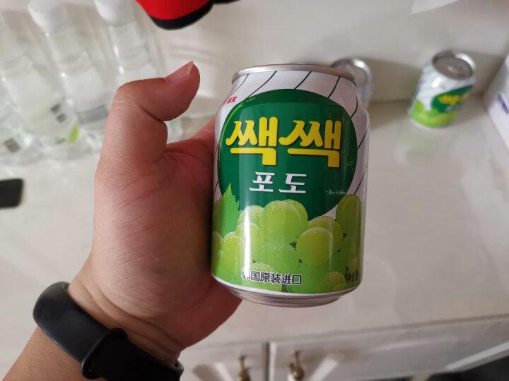 韩国进口乐天芒果汁/石榴汁/妙之吻碳酸饮料/可乐水果味乐天饮料进口饮品零食品 梨汁饮料 238ml*12罐 晒单图