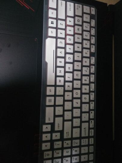 华硕FZ53VD7700/FX73VD7700/FX53VD/ZX53VW6300笔记本电脑键盘膜 带印刷功能按键TPU高透超薄键盘膜 晒单图