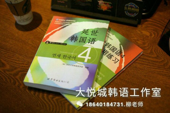 韩国延世大学经典教材系列:延世韩国语5活用练习 晒单图