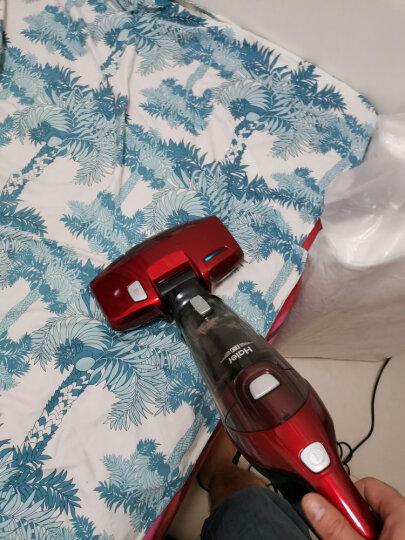 海尔(Haier)吸尘器 ZC405S 家用紫外线床铺除螨仪 手持推杆 晒单图