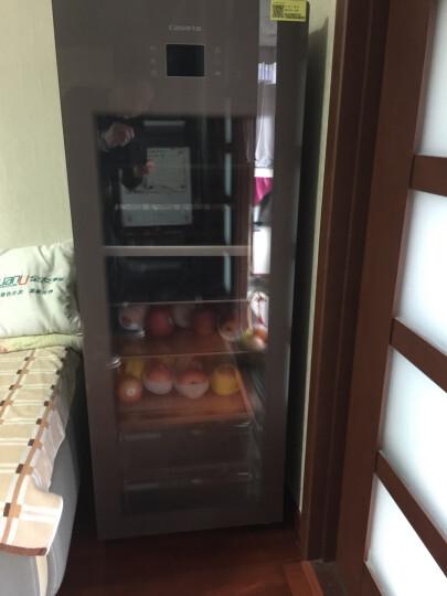 卡萨帝(Casarte) 166升 高端冰吧 母婴冰箱 冷藏柜商务冰箱茶叶柜展示柜小冰箱 DS0166D 晒单图