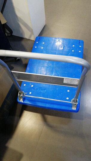 搬运宝 CQ-D7 超轻平板车折叠手推车拖车小推车小拉车工具货车塑料搬运车 大号热熔静音款90x60cm 承重700斤 晒单图