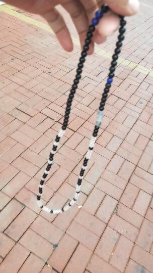 石传百世 6A级天然青金石手链 原石打磨青金石散珠 男女款水晶饰品配件 5A青金石隔片一个约直径10毫米*厚2.8毫米 晒单图