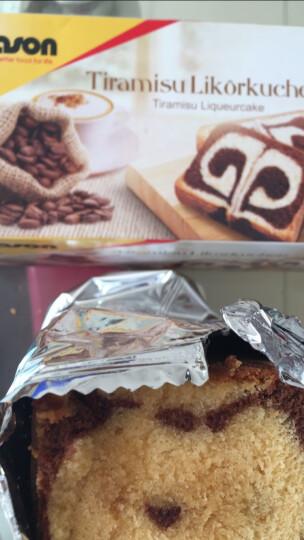 德国进口捷森jason蛋糕水果巧克力云纹香草蛋糕休闲零食甜点营养早餐面包糕点 提拉米苏蛋糕400g 晒单图