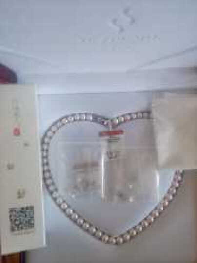 珍珠美人 淡水珍珠项链S925银扣正圆强光 细微瑕 时尚送爱人送妈妈生日礼物【美丽时光】 饱满正圆8-9mm49cm 晒单图