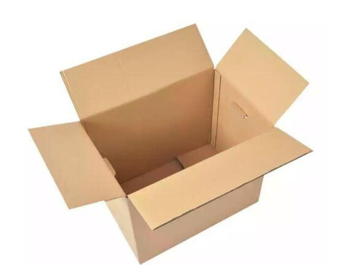 赫伊莎 搬家箱子大号装书纸箱快递包装收纳箱搬家打包用有扣手版加厚 加硬 5个装 60*50*40cm 晒单图