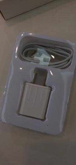 毕亚兹 苹果充电器套装 2A手机充电插头+锌合金苹果数据线1.2米 支持iPhoneXs Max/XR/8/7P/6s/iPad 2920 晒单图