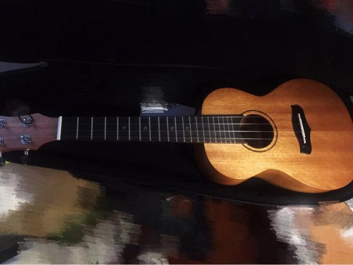 Tom 汤姆尤克里里21英寸23英寸26英寸乌克丽丽电箱吉它民谣吉他专业木吉他初学入门新手乐器 相思木TUC-700哑光原木色 23寸 晒单图