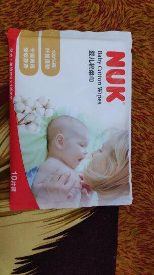 NUK儿童婴儿湿巾超厚特柔宝宝湿巾10抽*5包装 新生儿绵柔抽纸巾湿纸巾 晒单图
