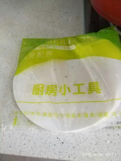 蒸尚美 蒸笼纸不粘烘焙纸100张面包子纸馒头垫烧烤纸饺子凤爪点心纸 28厘米【适合30、30.5、31厘米蒸笼】 晒单图