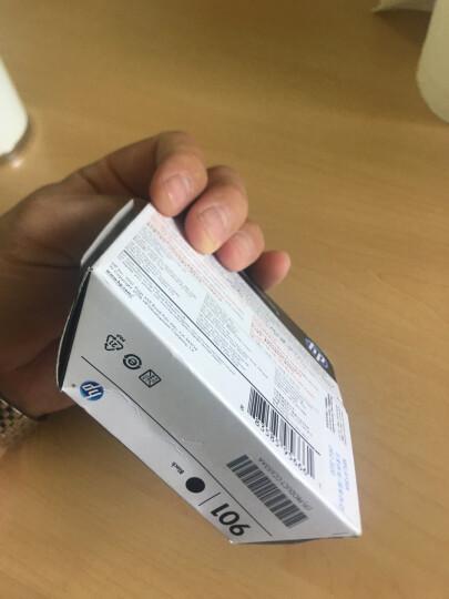惠普(HP)CC653AA 901号黑色墨盒(适用Officejet J4580 J4660 4500) 晒单图