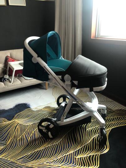 爱贝丽(IBelieve) 婴儿推车智能刹车婴儿车可坐可躺高景观大轮避震宝宝手推车双向推行新生儿童车 未来5-玛雅灰-智能刹车(0-3岁) 晒单图