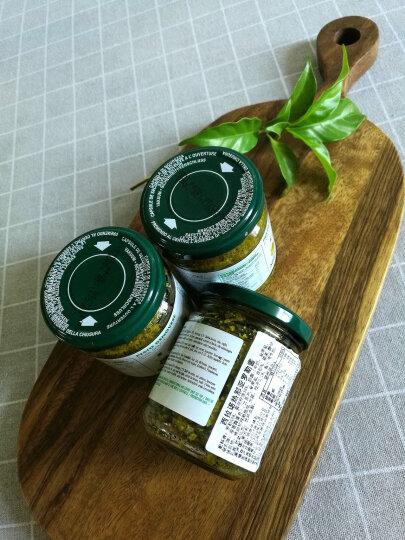 意大利进口Silarus西拉诺 青罗勒酱青酱 意大利面酱 热那亚罗勒酱(青酱)180g 晒单图