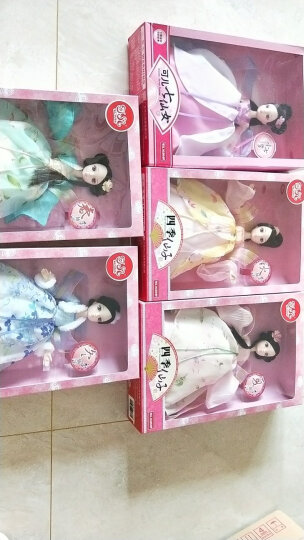 可儿娃娃(Kurhn)七仙女系列 绿衣仙子 古装娃娃 女孩玩具生日礼物 10关节体1140 晒单图