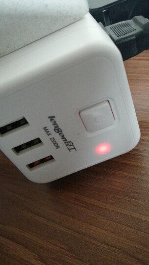 良工(lengon)USB插座智能魔方无线电源插座插排插线板 一转四转换器多功能新国标立式接线板 晒单图