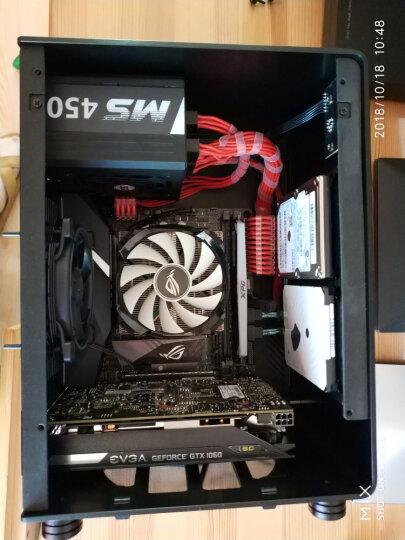 乔思伯(JONSBO)U1-PLUS ITX机箱 黑色 (支持ITX主板/全铝箱体/钢化玻璃侧板/SFX电源/195MM长内MINI显卡) 晒单图