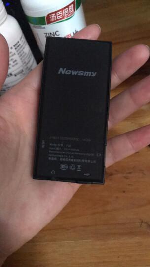 纽曼(Newsmy)F33 白色 8G mp3 mp4播放器 录音+有屏+ 运动MP3 HIFI无损音乐播放器 晒单图