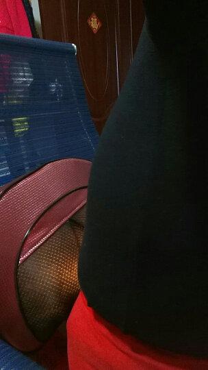 南极人(NANJIREN)颈椎按摩器 按摩靠垫全身 颈部腰部肩部按摩椅垫 肩颈护颈脊椎头脖子按摩仪 南极人官方京东指定特卖款-NBX8F50373红色 晒单图