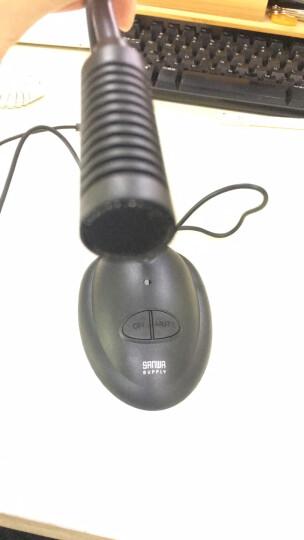 山业 sanwa 电脑麦克风 k歌有线话筒 会议直播电容麦 usb录音设备 游戏语音 MCUSB25 晒单图
