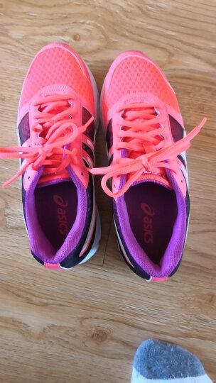 亚瑟士ASICS缓冲跑鞋透气跑步鞋女运动鞋 PATRIOT 8 T669N-2001 粉色/白色/淡紫色 36 晒单图