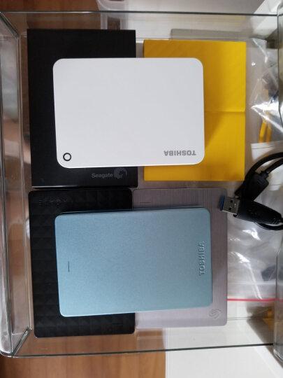 东芝(TOSHIBA) 2TB USB3.0 移动硬盘 V9系列 2.5英寸 兼容Mac 轻薄便携 密码保护 轻松备份 高速传输 清新白 晒单图