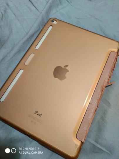 亿色(ESR) 苹果iPad Air2/6保护套/壳 轻薄防摔三折支架皮套 咔Q系列 动感灰超人【不适用iPad Air和iPad2】 晒单图