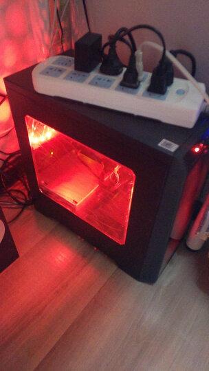 武极 定制 12CM炫光18灯LED风扇台式电脑主机降温机箱风扇 红色 18灯LED 默认1 晒单图
