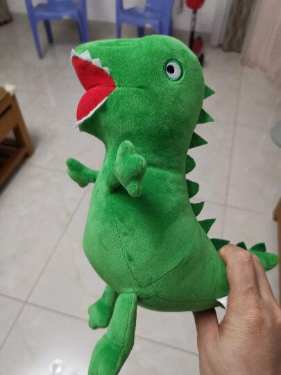 小猪佩奇啥是佩奇PeppaPig粉红猪小妹毛绒玩具3-6岁礼品乔治生日礼物背包小熊恐龙 29cm乔治的恐龙 晒单图