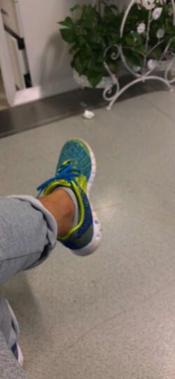 匹克(PEAK)时尚运动鞋 男跑步鞋 DH610327 酸绿/闪光蓝 40码 晒单图