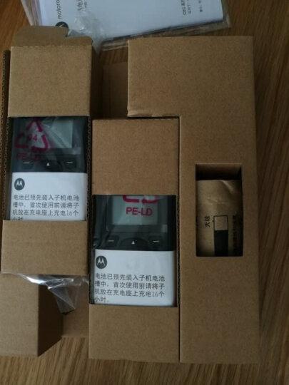 摩托罗拉 Motorola O201C 电话机 远距离数字无绳套装 橙色背光电话簿中英文显示菜单可扩展 无线座机(红色) 晒单图