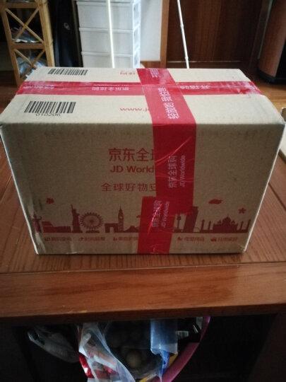 日本进口inomata 办公桌面A4纸文件收纳筐创意塑料文件篮可叠加多层收纳盒 黑色 晒单图