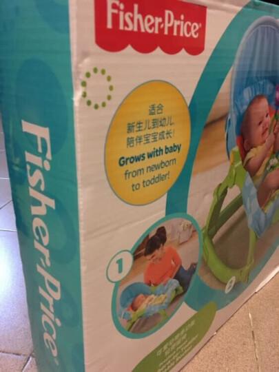 费雪(Fisher-Price) 新生儿宝宝安抚哄睡优惠套装礼盒 多功能摇椅W2811+蓝色海马DGH82 晒单图