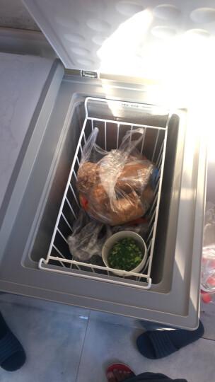 美的(Midea)200升 双温双箱冷柜 家用商用冰柜 一级能效 冷冻冷藏卧式冰箱(妙趣金)BCD-200DKM(E) 晒单图